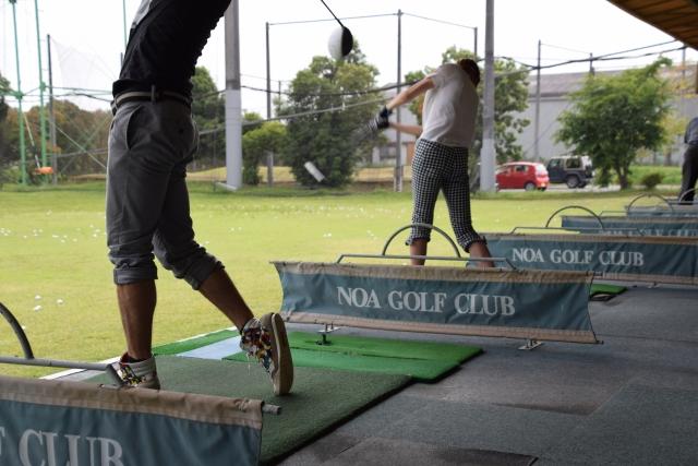 第108回ゴルフ練習